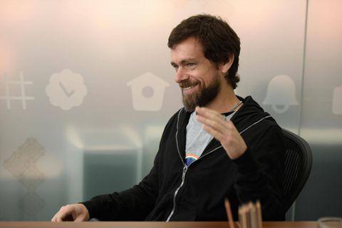 Le co-fondateur et PDG de Twitter Jack Dorsey.