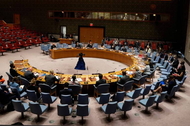 """Selon le chef de l'ONU, le monde doit s'unir pour combattre """"la menace terroriste"""" en Afghanistan"""