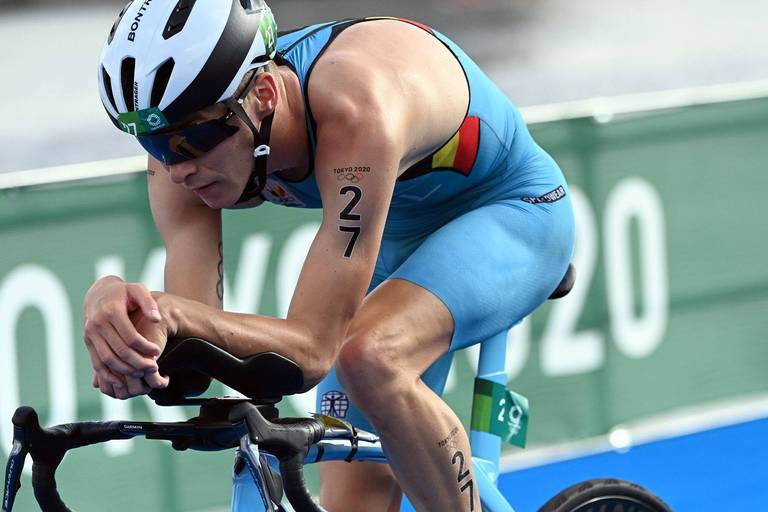 Triathlon : Marten Van Riel, vice-champion du monde