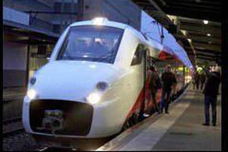 Premiers trajets pour le train à grande vitesse Fyra