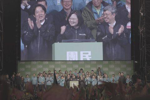 Le 11 janvier 2020, Tsai Ing-wen, première femme présidente de Taiwan, a remporté, pour la seconde fois, les élections présidentielles.