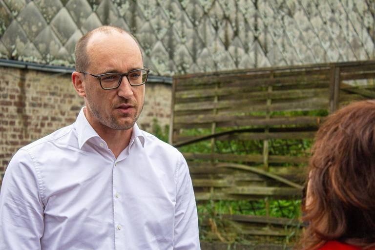 Le ministre des Finances Vincent Van Peteghem (CD&V).