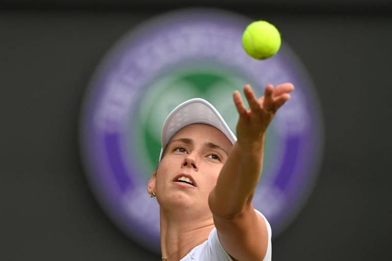 """Elise Mertens, N.1 mondiale en double: """"C'est quelque chose de très spécial"""""""