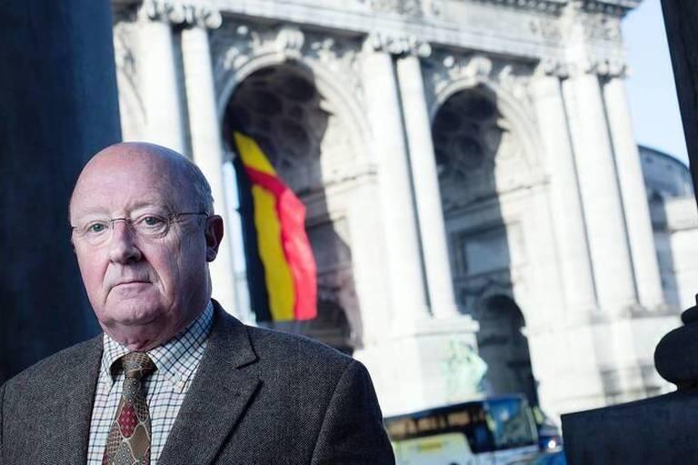 Le général en retraite Charles-Henri Delcour, ancien chef de la Defense (CHOD)