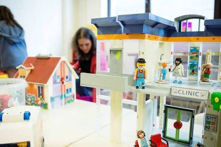 L'institut Bordet met un espace et des psychologues a la disposition des enfants dont un parent est hospitalise dans l'Institut