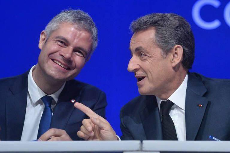 Laurent Wauquiez remplace Nicolas Sarkozy à la tête des Républicains