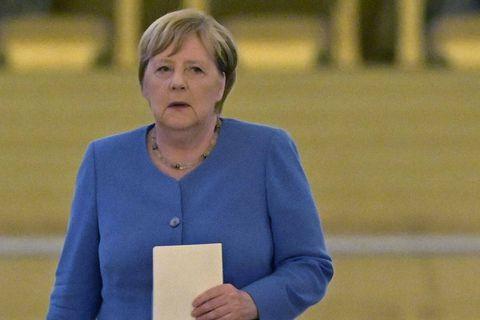 Merkel en visite d'adieu en Ukraine, alliée déçue de Berlin