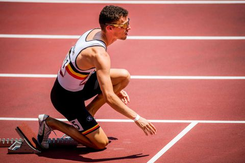 400 mètres: Kevin Borlée déclare forfait pour les demi-finales