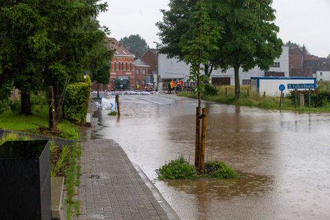 Inondations: les victimes peuvent introduire une demande d'intervention pour les pollutions diffuses