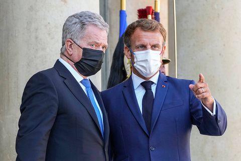 Emmanuel Macron, Sauli Niinisto
