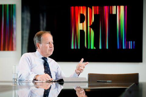 Bruxelles - RTL House: Philippe Delusinne - administrateur délégué de RTL BeLux