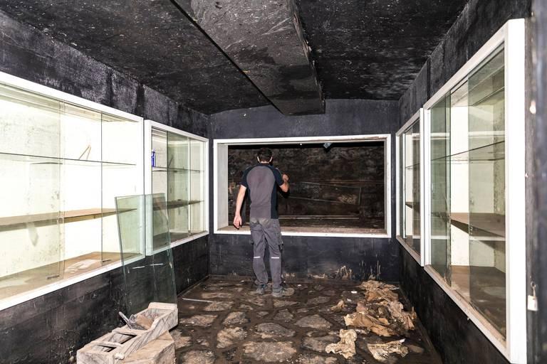 Verviers : les collections du musée inondées