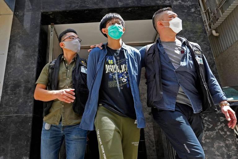 """Hong Kong: des étudiants arrêtés pour """"apologie du terrorisme"""""""