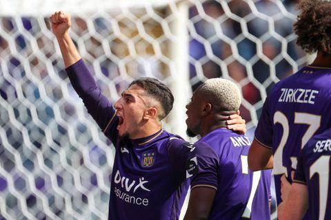 Un Anderlecht à deux visages s'offre un carton face à Malines (7-2)
