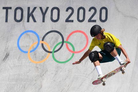 L'Australien Keegan Palmer premier champion olympique de park