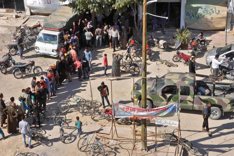 Le régime Assad tenu pour responsable d'une attaque au gaz sarin