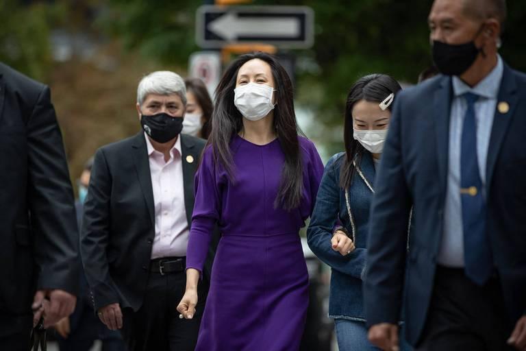Fin des audiences d'extradition pour la directrice financière de Huawei