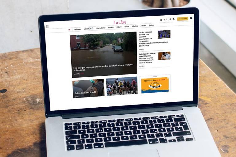 Le site de La Libre fait peau neuve