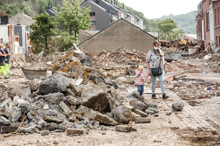 Frappée par des inondations sans précédent, la Belgique commence à faire les frais du changement climatique.