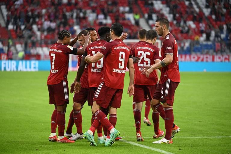 Le Bayern établit un nouveau record du Big 5