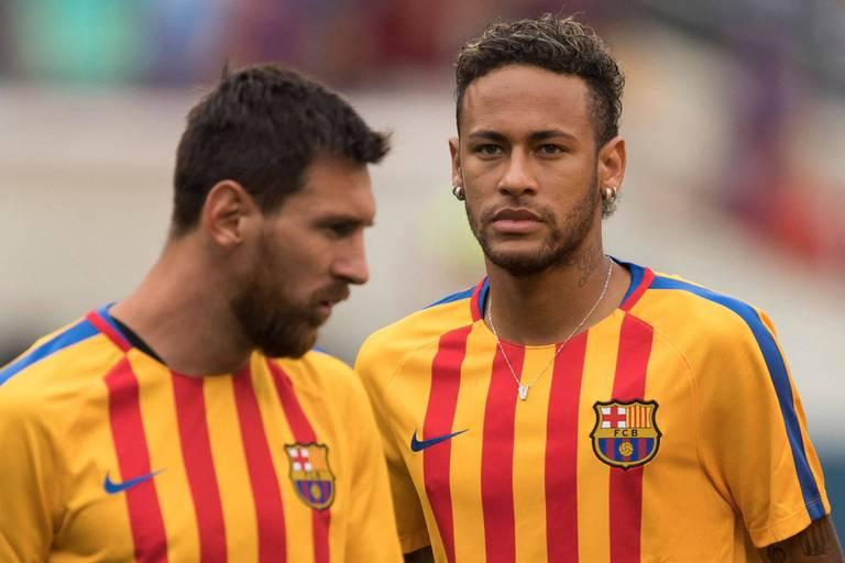 Le message de bienvenue de Neymar à Messi