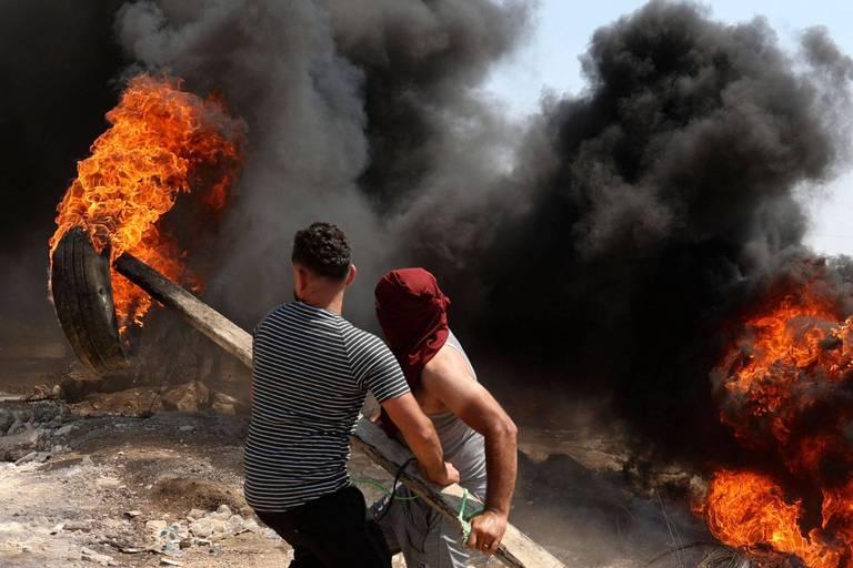 Cisjordanie: près de 300 Palestiniens blessés dans des heurts avec l'armée israélienne