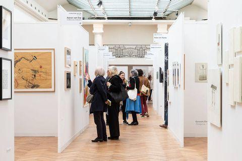 Art on Paper, la 6e édition du salon international du dessin contemporain attendue à Bruxelles
