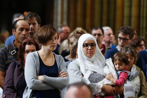 France: les musulmans manifestent leur horreur du djihadisme