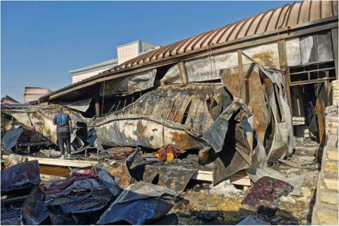 Un nouvel incendie ravage un hôpital utilisé pour la crise sanitaire en Irak