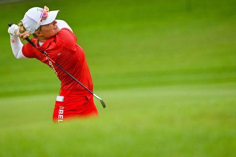 Golf: la Belge Manon de Roey termine à la 46e place, l'Américaine Nelly Korda titrée