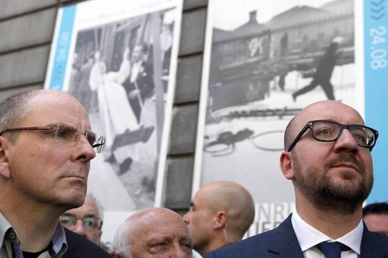Musée Juif : Charles Michel assiste à la cérémonie d'hommage aux quatre victimes de la fusillade