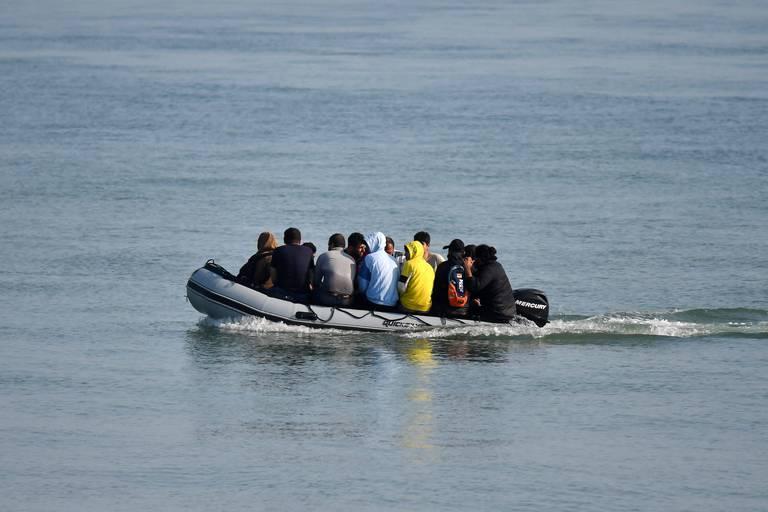 """Les """"Small Boats"""" utilisés en mer du Nord par les migrants, un phénomène qui inquiète la police"""