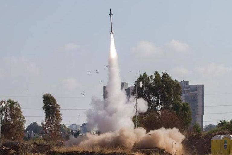 Gaza: tirs de roquettes interceptés au-dessus de Tel Aviv