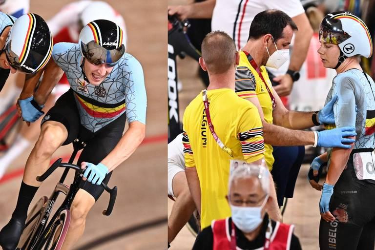 """""""Des Jeux frustrants"""" et décevants pour les pistards belges"""