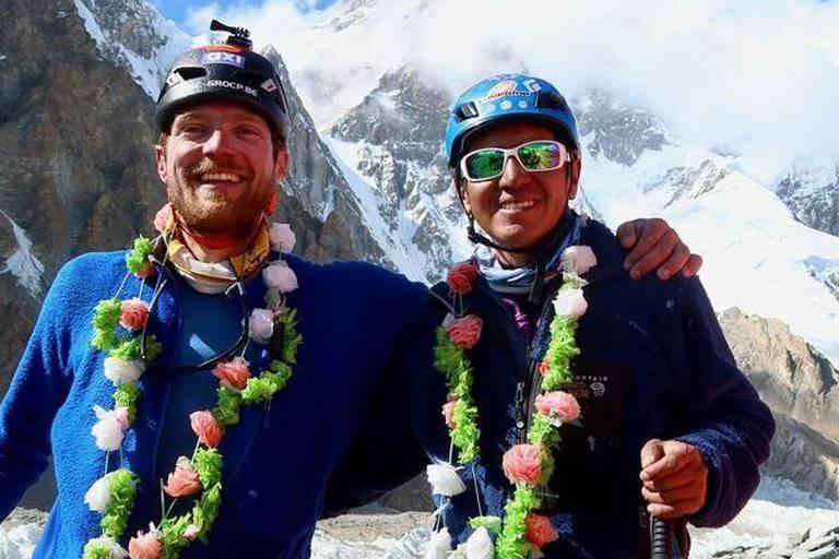 Après avoir gravi le Broad Peak, l'alpiniste Niels Jespers atteint le sommet du K2 sans oxygène: un exploit