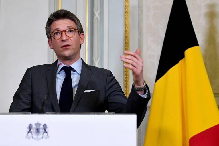 Pierre-Yves Dermagne (PS), ministre de l'Economie et du Travail.