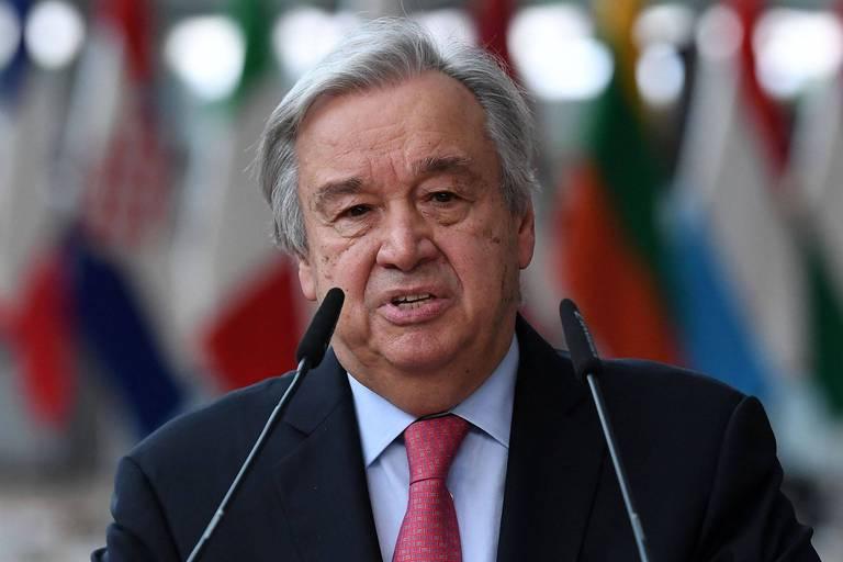 """Conflit en Afghanistan: il faut """"un dialogue"""" avec les talibans et éviter """"des millions de morts"""", estime Guterres"""