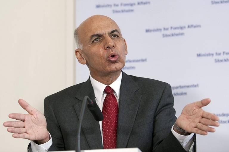 """Afghanistan: pour le président, la dégradation dans le pays est causée par """"le retrait brusque des Etats-Unis"""""""