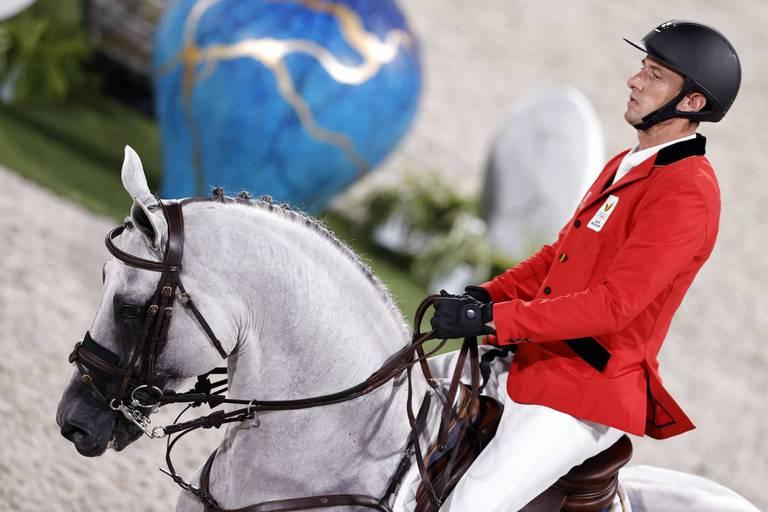 Pas de médailles pour les cavaliers belges dans le saut d'obstacles, Grégory Wathelet finit le mieux classé à la 9e place