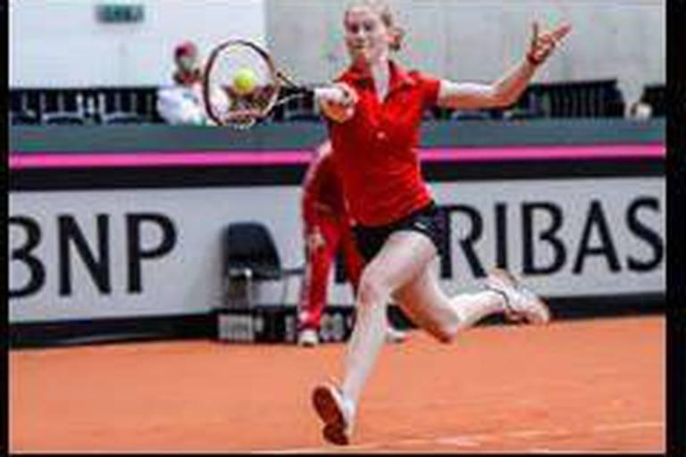 Fed Cup : Battue par la Suisse, la Belgique jouera les barrages