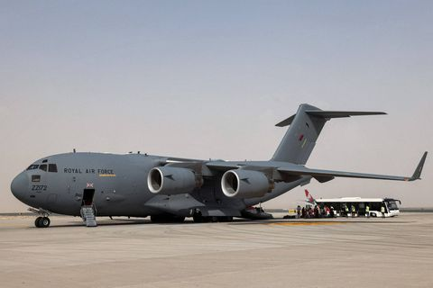 Environ 7.000 personnes évacuées d'Afghanistan par les Américains depuis le 14 août