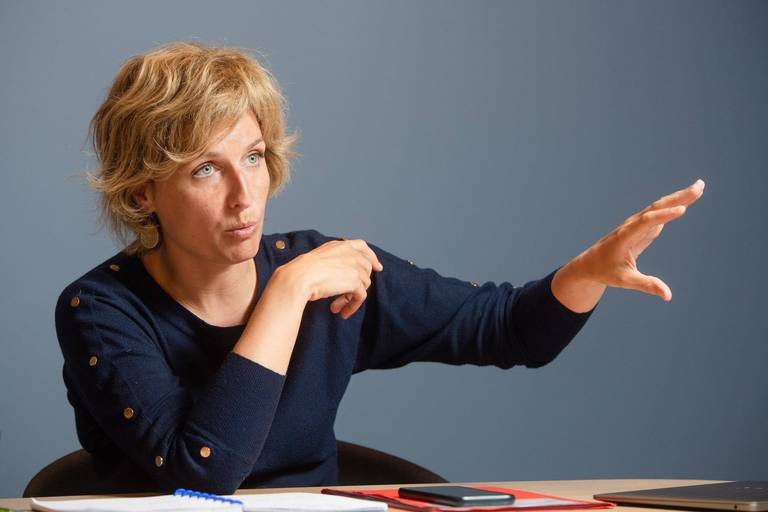 """Céline Tellier, ministre wallonne de l'Environnement, revient sur les inondations: """"On ne peut pas dompter la nature"""""""