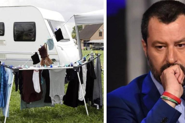 Les Roms d'Italie veulent montrer à Salvini qui ils sont vraiment