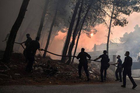 """""""Un été cauchemardesque"""", """"une catastrophe abominable"""" : la Grèce brûle toujours, la Turquie aidée par la pluie"""