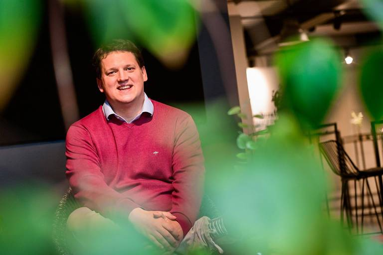 Fabien Pinckaers, le CEO d'Odoo.