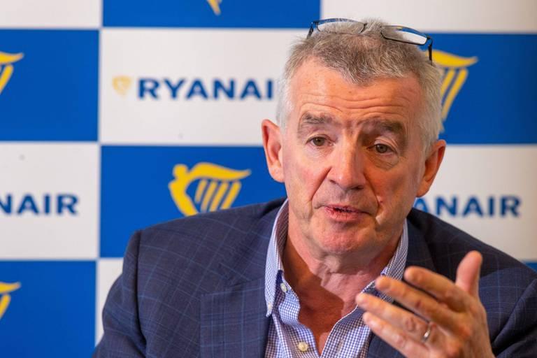 Michael O'Leary, patron de Ryanair.