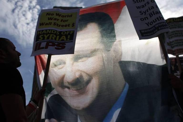 Assad réfute être derrière l'attaque chimique