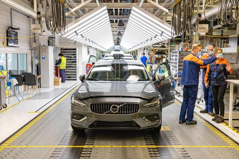 Volvo va engager 500 personnes pour son usine de Gand
