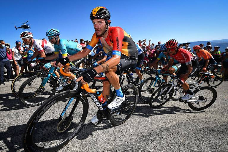 Vuelta: incroyable solo de Caruso et bonne affaire pour Roglic dans la 9e étape