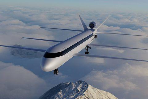 Le très révolutionnaire SE200 promet de réduire de 80 % les émissions de CO₂ d'un avion classique. Ce n'est encore qu'un projet.